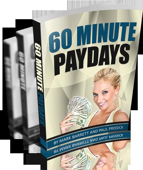 Mark Barrett 60 Minute Paydays